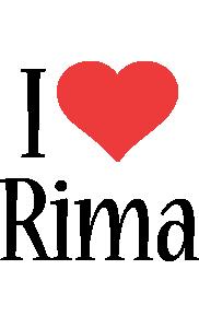 Rima i-love logo