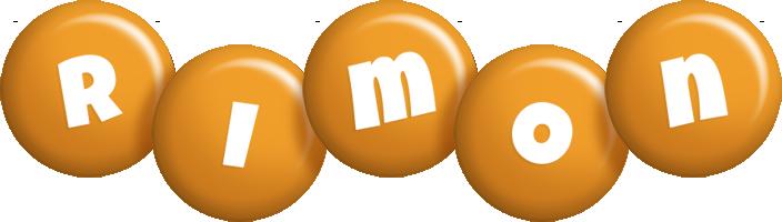 Rimon candy-orange logo