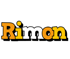 Rimon cartoon logo