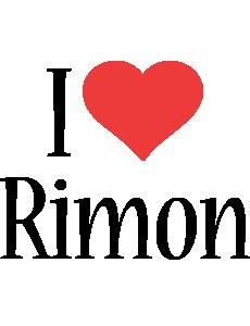 Rimon i-love logo