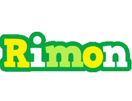 Rimon soccer logo