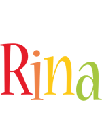 Rina birthday logo