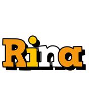 Rina cartoon logo