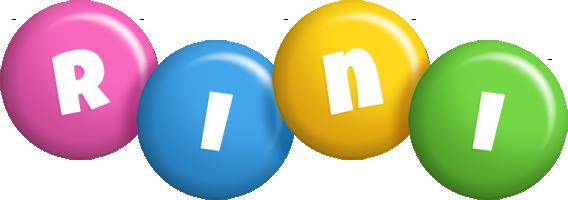Rini candy logo