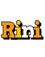 Rini cartoon logo