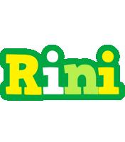 Rini soccer logo