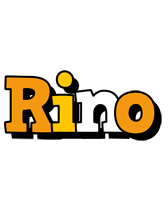 Rino cartoon logo