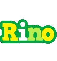 Rino soccer logo