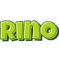 Rino summer logo