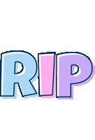 Rip pastel logo
