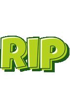 Rip summer logo
