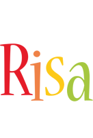 Risa birthday logo
