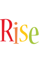 Rise birthday logo