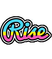 Rise circus logo