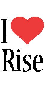 Rise i-love logo