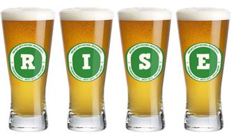 Rise lager logo
