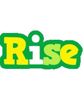 Rise soccer logo