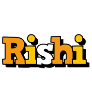 Rishi cartoon logo
