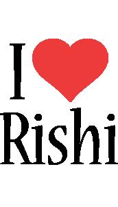 Rishi i-love logo
