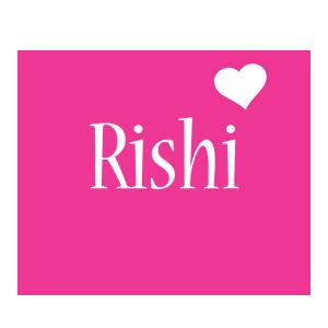 Rishi love-heart logo
