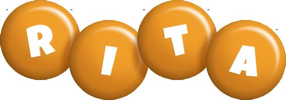Rita candy-orange logo