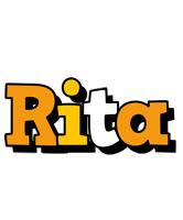 Rita cartoon logo