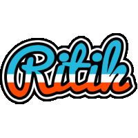 Ritik america logo