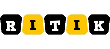 Ritik boots logo