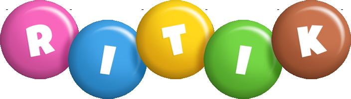 Ritik candy logo