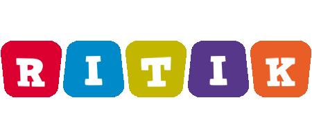 Ritik daycare logo