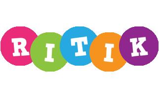 Ritik friends logo