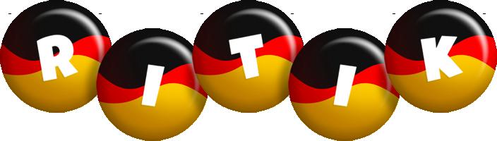 Ritik german logo