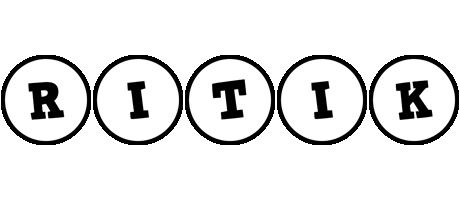 Ritik handy logo