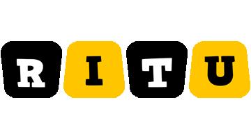 Ritu boots logo