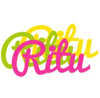 Ritu sweets logo