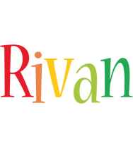 Rivan birthday logo