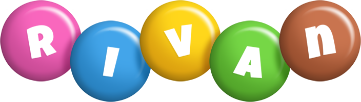 Rivan candy logo