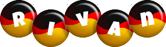 Rivan german logo