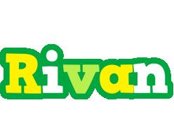 Rivan soccer logo