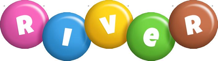 River candy logo