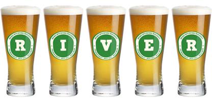 River lager logo