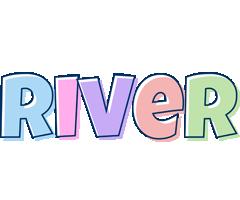 River pastel logo