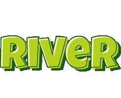 River summer logo