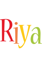 Riya birthday logo