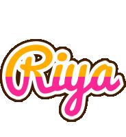 Riya smoothie logo