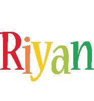 Riyan birthday logo