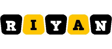 Riyan boots logo