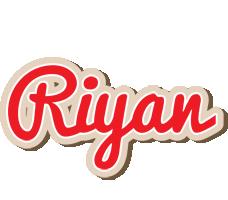 Riyan chocolate logo