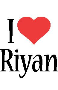 Riyan i-love logo