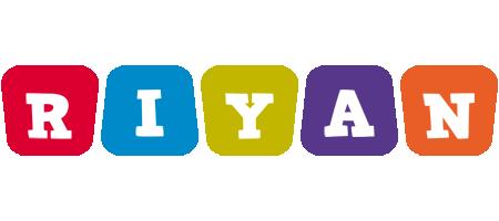 Riyan kiddo logo